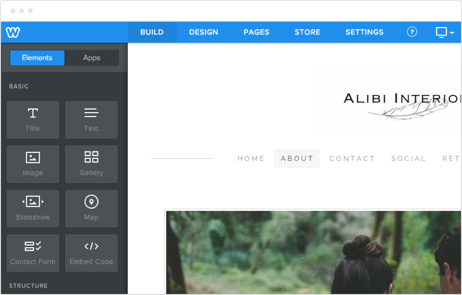 Weebly Content Elements